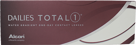 Dailies Total 1 contact lens packaging