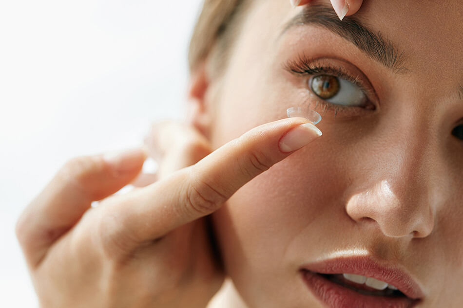 Contact lenses for vision correction