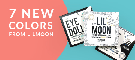 Lilmoon Daily Color Contacts