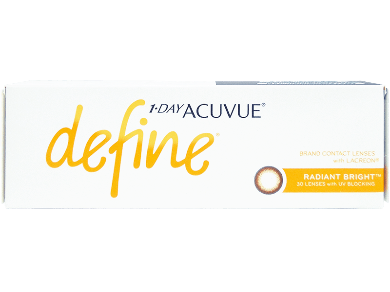 3ac2388e7b9 1 Day Acuvue Define Radiant Bright with LACREON - Daily Contact ...