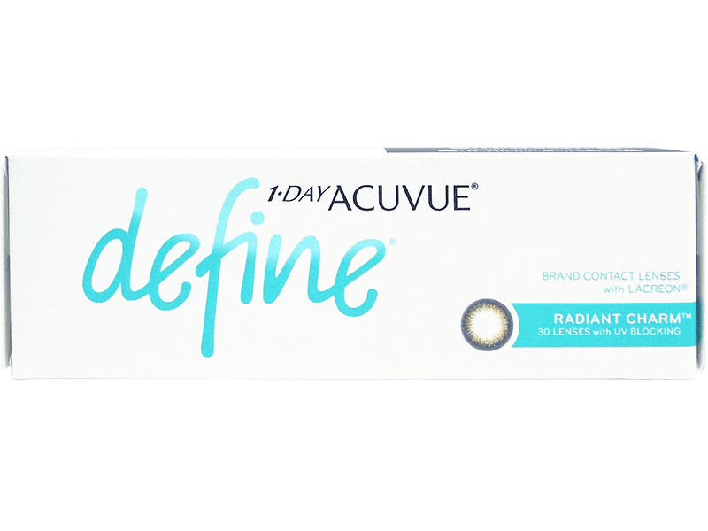 1 Day Acuvue Define Radiant Charm with LACREON
