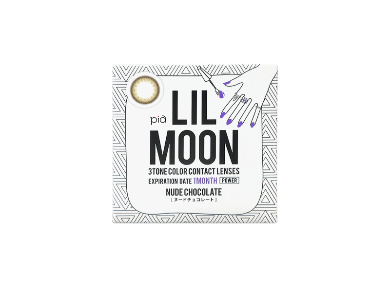 LILMOON Monthly Nude Chocolate (1 lens per box)