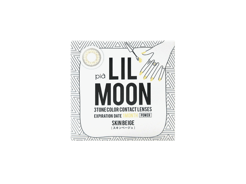 LILMOON Monthly Skin Beige (1 lens per box)