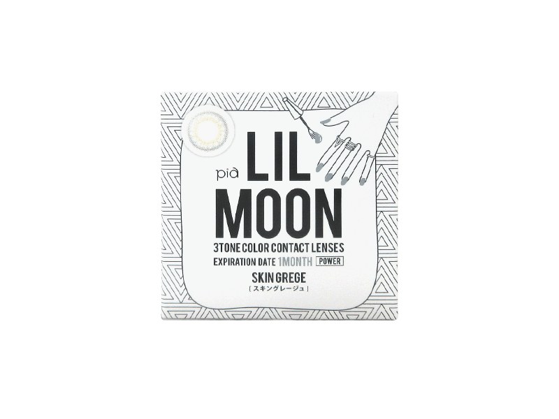 LILMOON Monthly  Skin Grege (1 lens per box)