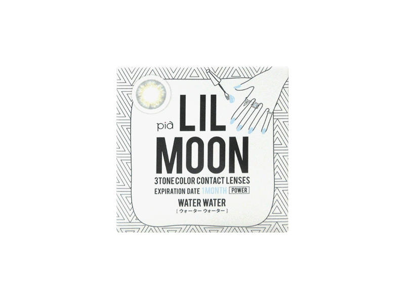 LILMOON Monthly  Water Water (1 lens per box)
